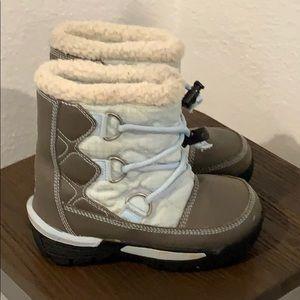 Auth Sorel waterproof winter boots toddler Sz 11